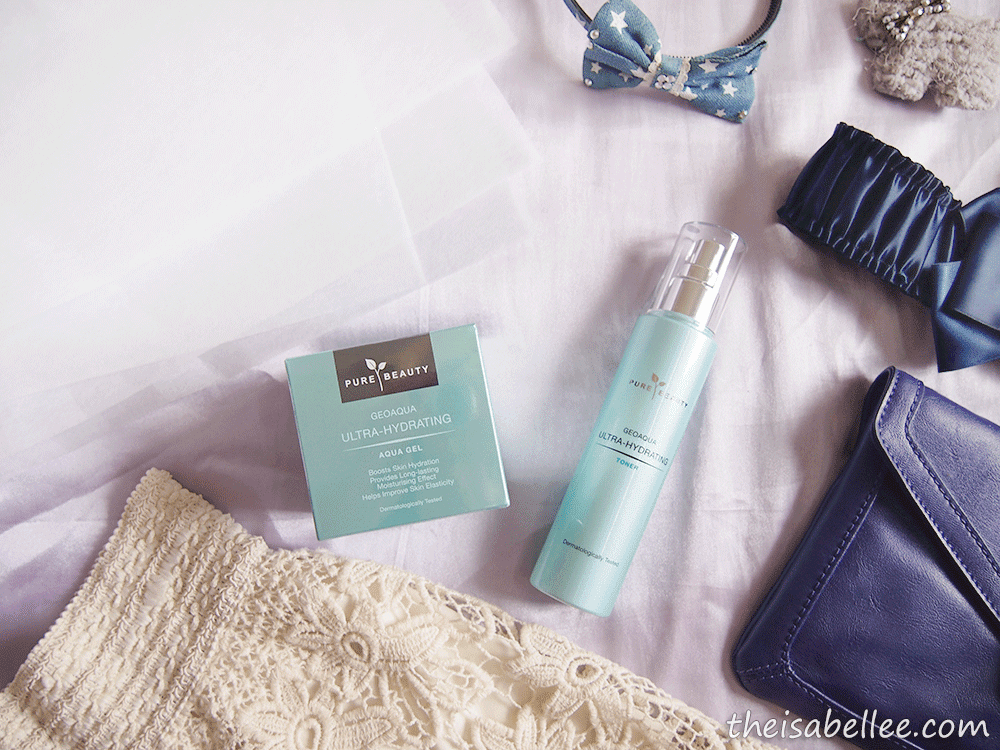 Pure Beauty GeoAqua Ultra-Hydrating Aqua Gel and Toner
