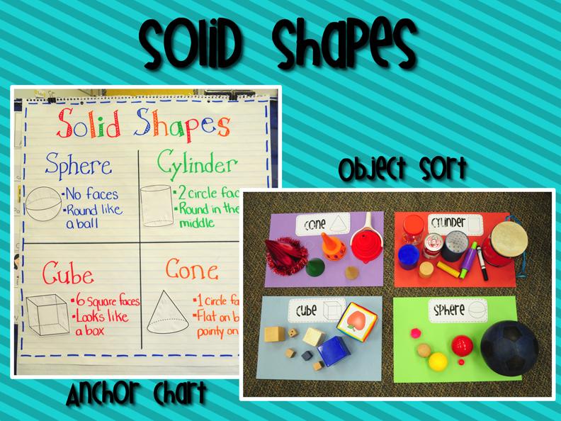 mrs ricca s kindergarten solid shapes geometry unit freebie