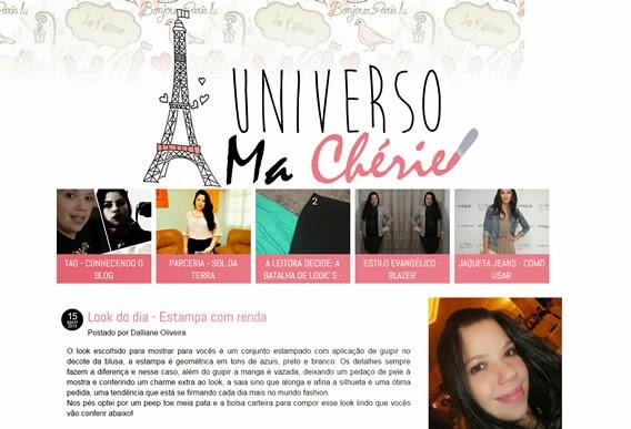 Blog Univero Ma Cherie