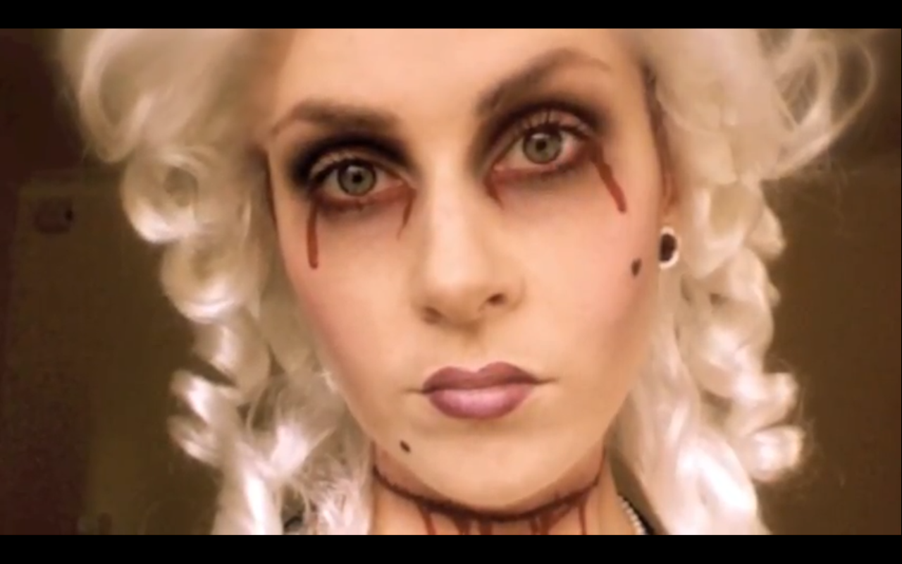 NANCY ♡ GIRL: MAKEUP MONDAY ♥ HALLOWEEN: MARIE ANTOINETTE ...
