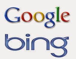 محرك بحث جوجل في مواجهة محرك بحث بينج