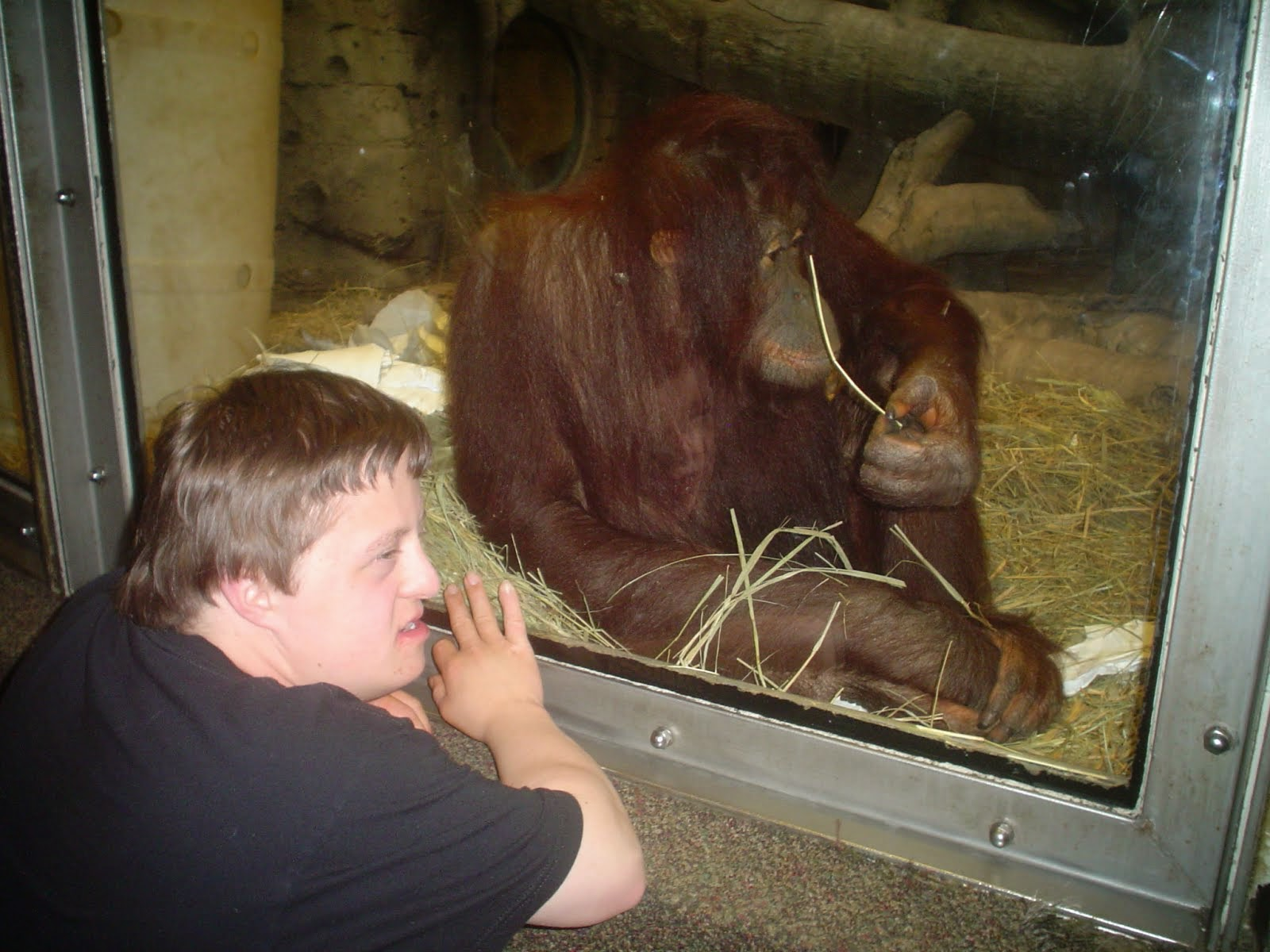 Alec at Omaha Zoo