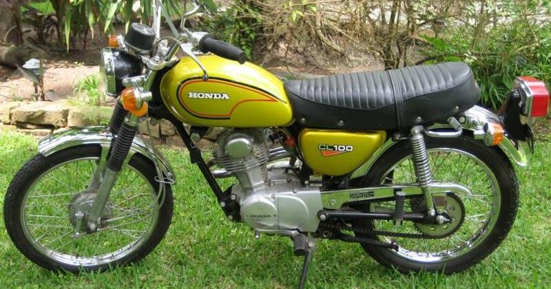 Honda CL100 Motorcycle 1970-1973 Complete Wiring Diagram ...
