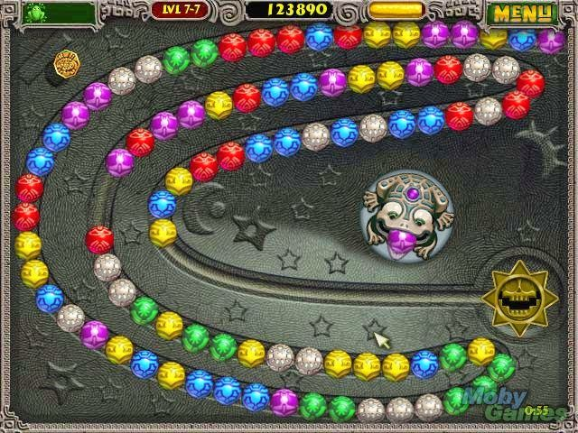 play zuma deluxe and other free online games