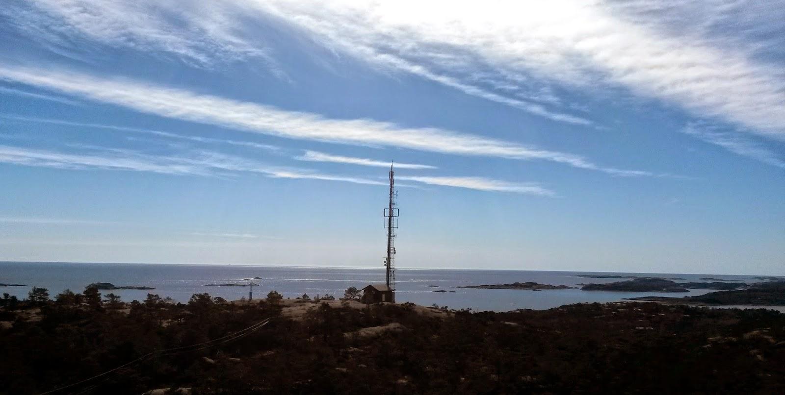 Utsikt fra Svensheia