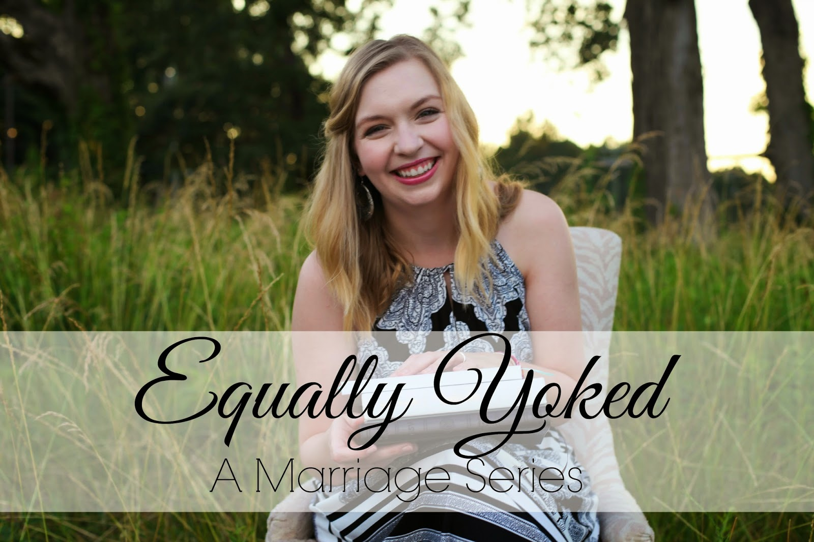 Equally Yoked sage the blog marriage series