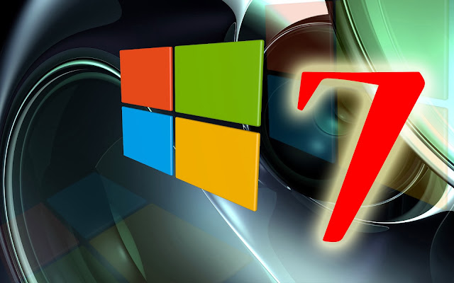 3D Windows 7 wallpaper