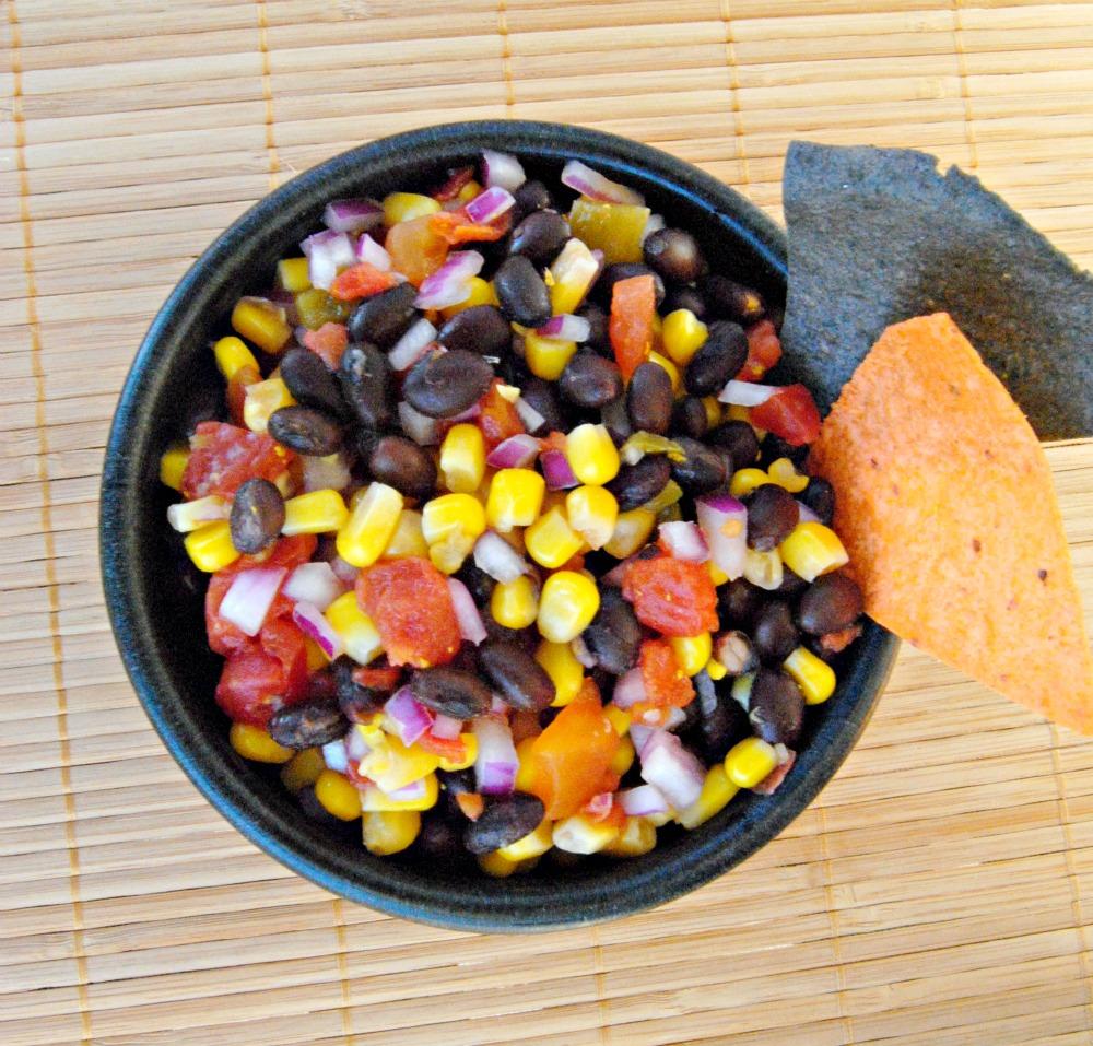 ... : October's Secret Recipe Club - Black Bean Corn Salsa