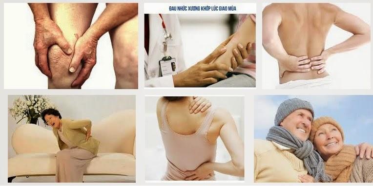 Phòng chống đau nhức xương khớp vào mùa lạnh