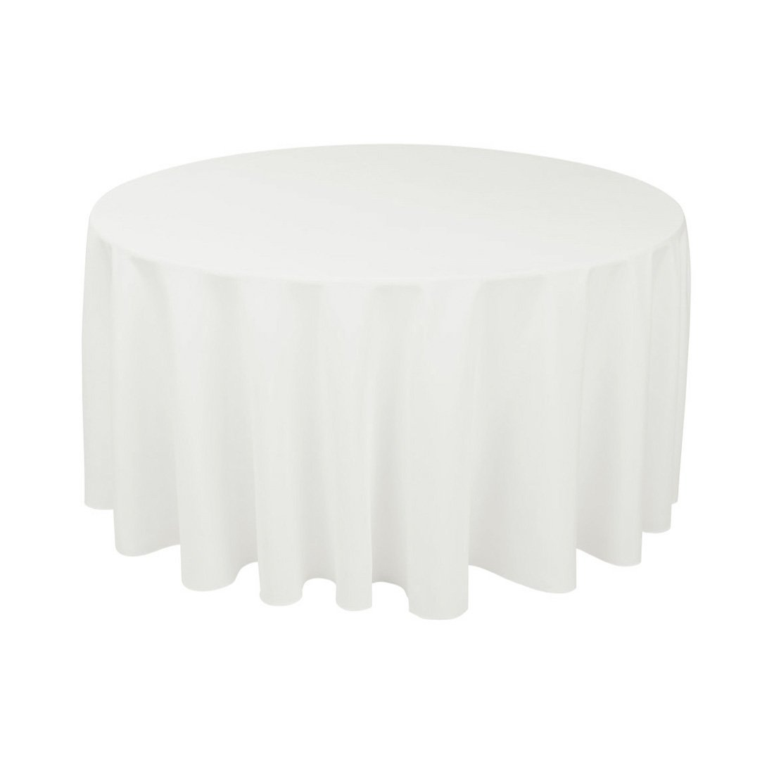 Wedding goods for sale polyester 120 round tablecloth for 120 round table cloths