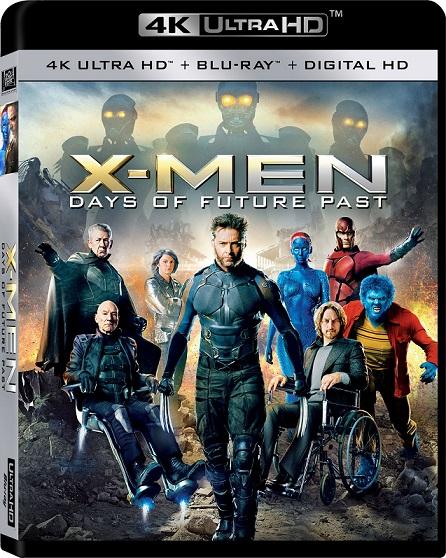 X-Men: Days of Future Past 4K (X Men: Días del Futuro Pasado 4K) (2014) 2160p 4K UltraHD HDR BluRay REMUX 47GB mkv Dual Audio DTS-HD 7.1 ch