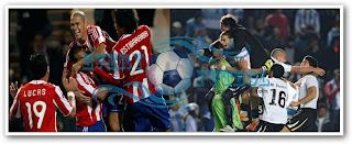Uruguay Vs Paraguay Final Copa América