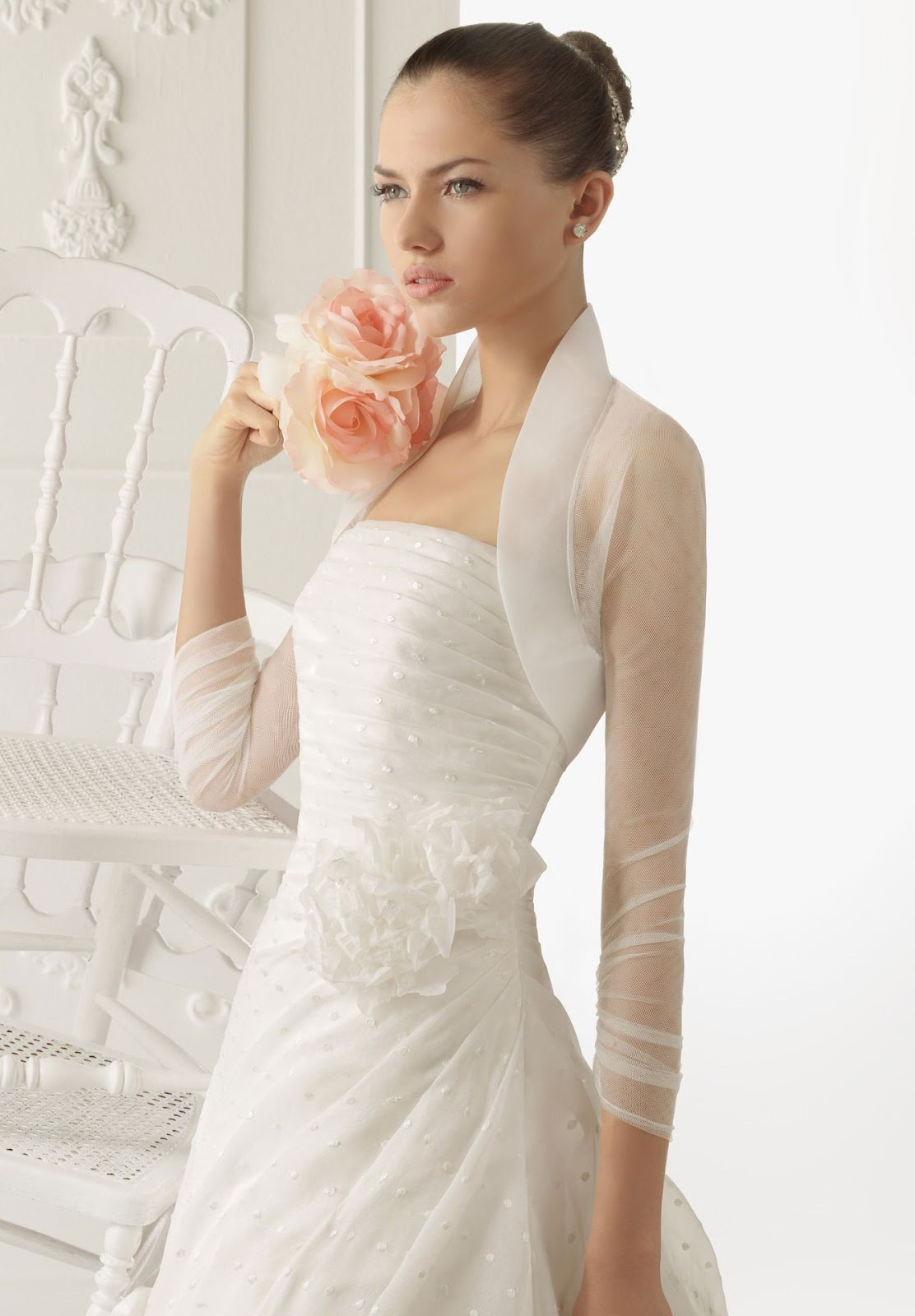 elegant wedding dresses with stunning accents