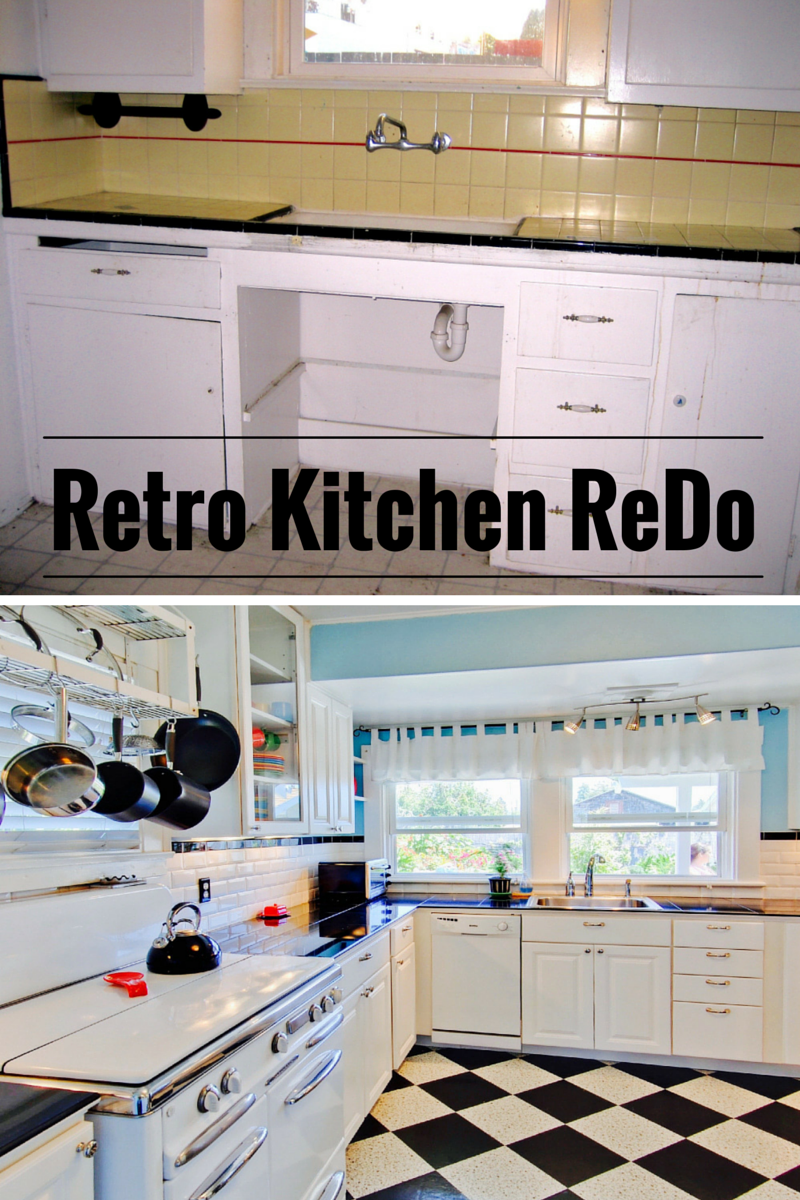 Leaving the Ivory Tower: Retro Kitchen Remodel