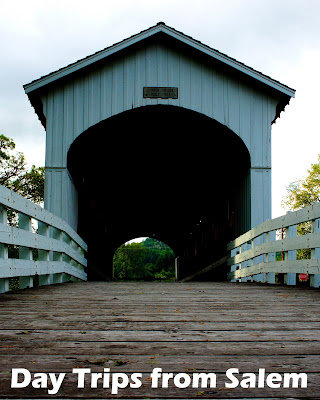 Travel the World: Day trips from Salem, Oregon to Cottage Grove's covered bridges, Silver Falls State Park, and Oregon Garden.