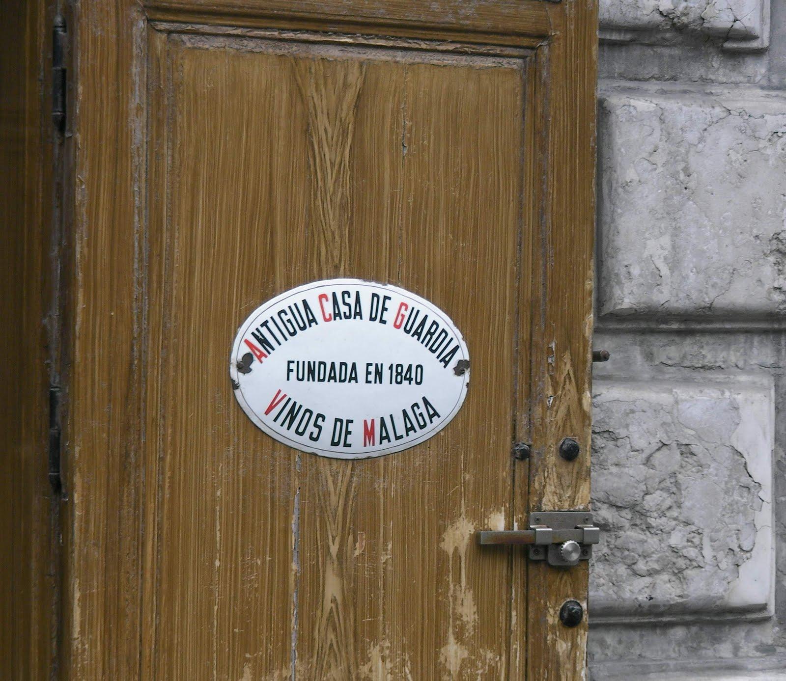 2011 espa a visite a la bodega antigua casa de guarda a malaga - Casa plus malaga ...