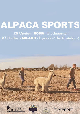 Alpaca Sports in tour in Italia