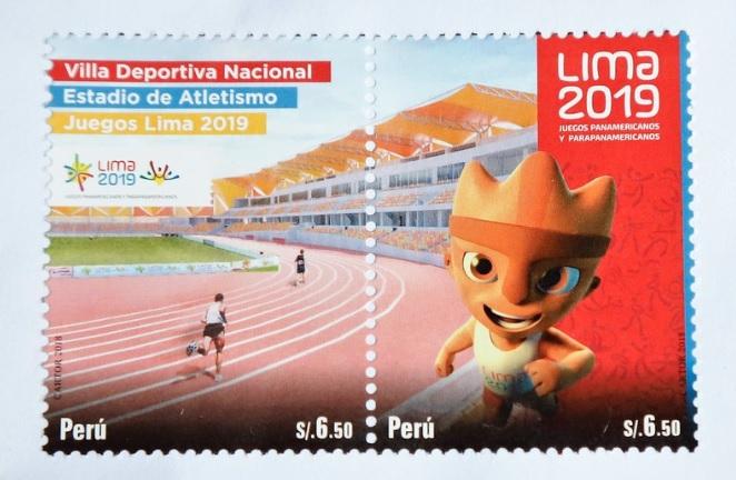 Estampilla de Lima 2019