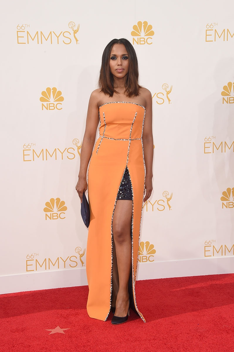 Kerry Washington in Prada at the Emmy Awards