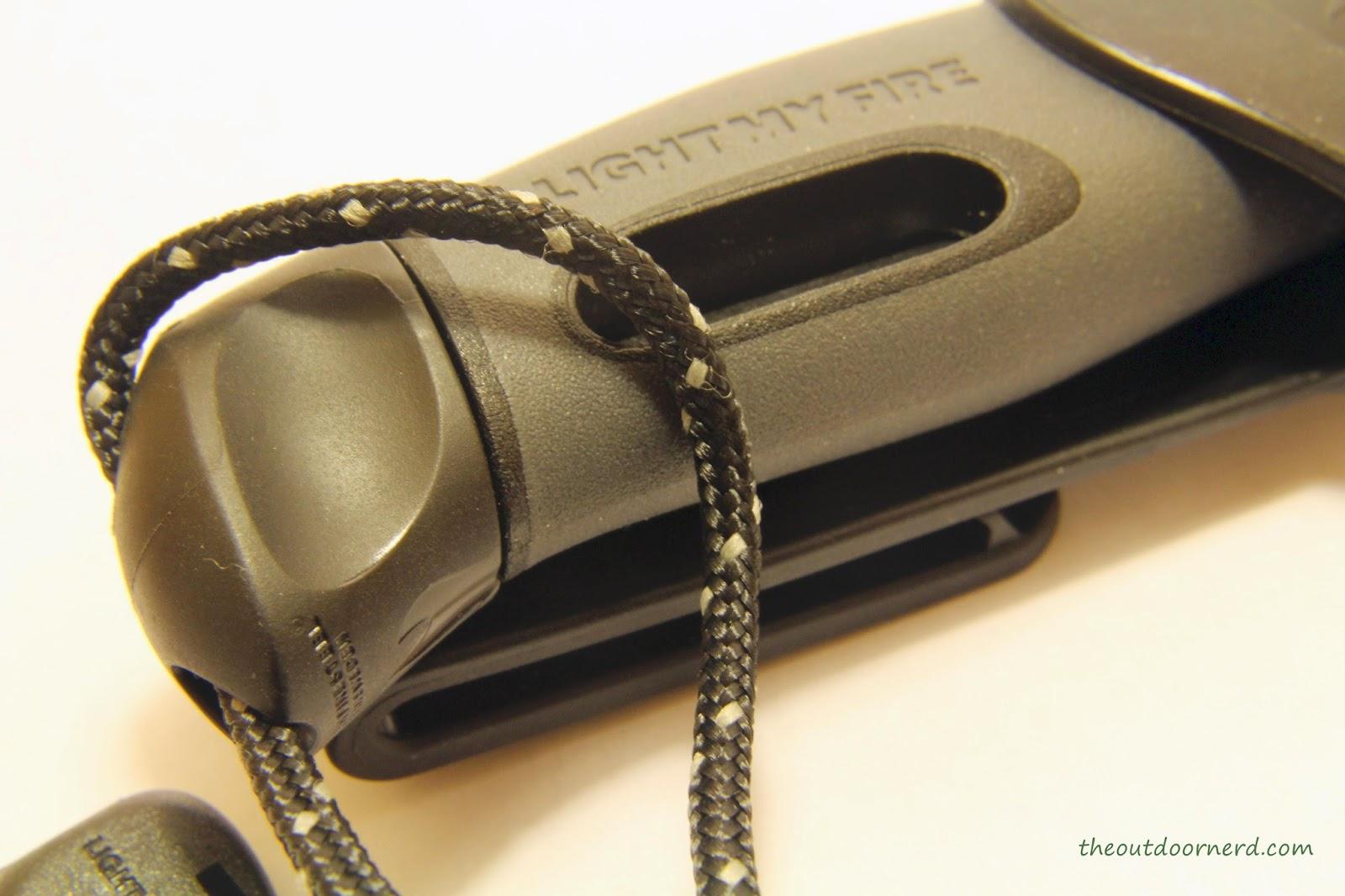 Light My Fire Swedish FireKnife: Closeup Of FireSteel 1