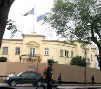 Sede de Embajada de Francia en el Perú. Foto: Andina/Archivo