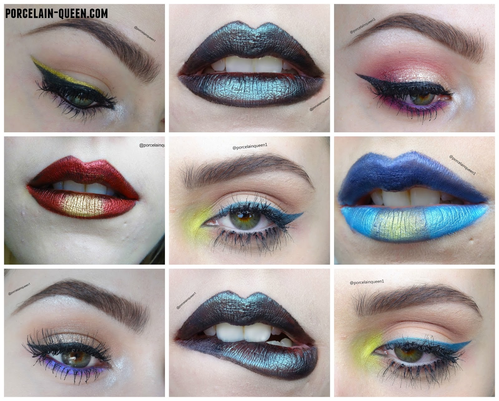 eye makeup lip art