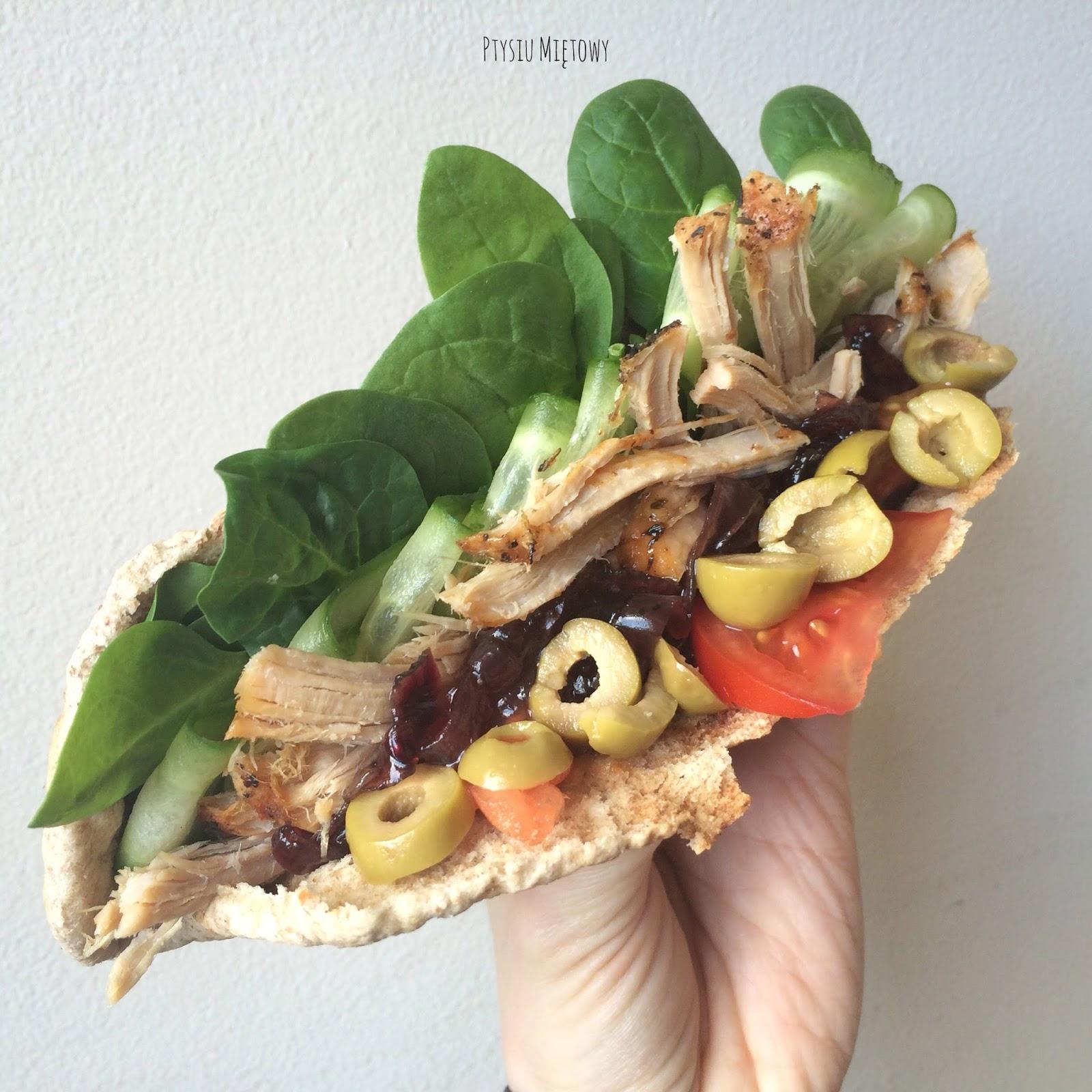 kanapka, ptysiu mietowy