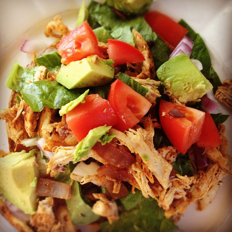 xoxo, stephanie marie: Chicken Tostada Salad