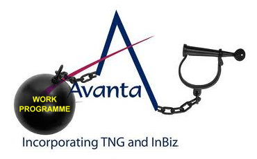 Avanta Work Programme ball and chain protest