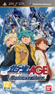 Kidou Senshi Gundam AGE: Universe Accel PSP GAME