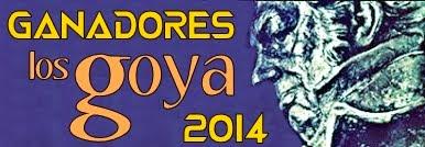 Ganadores Premios Goya 2014