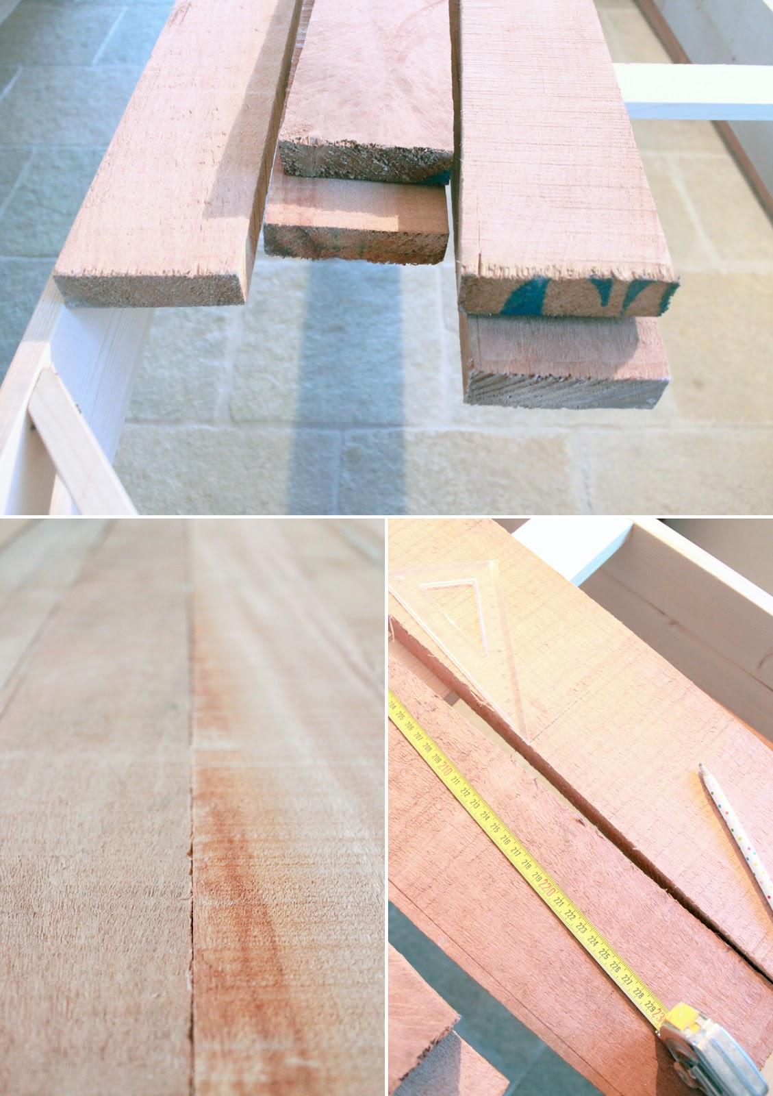Per fare un tavolo ci vuole il legno shabby chic interiors - Costruire un tavolo in legno ...
