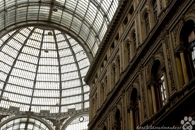 Galleria Umberto I en Napoles