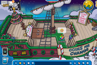 Club Penguin Holiday Party 2015 Cheats