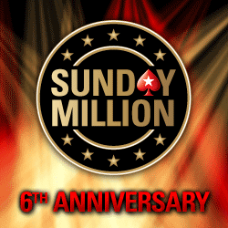 Sunday Million 6th Anniversery