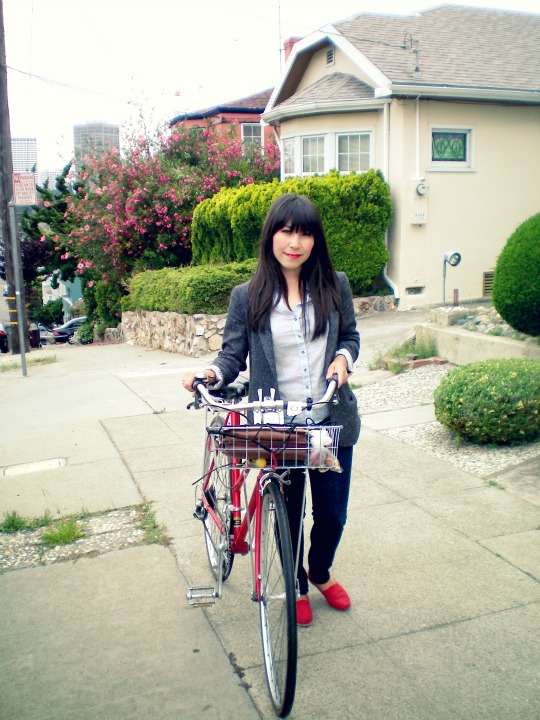 i heart you, bicycle