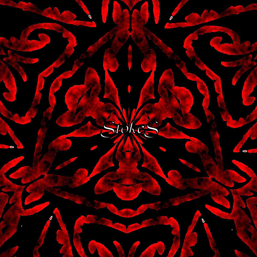 red and black dark tribal art tribal