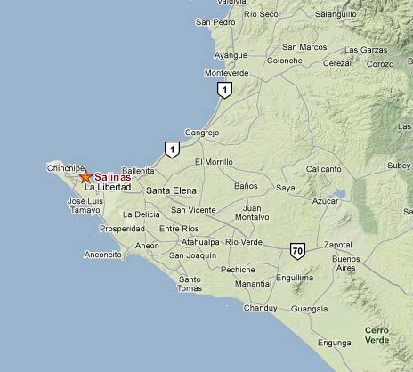 como llegar al Hoteles Francisco I & II Hoteles en Salinas Precios