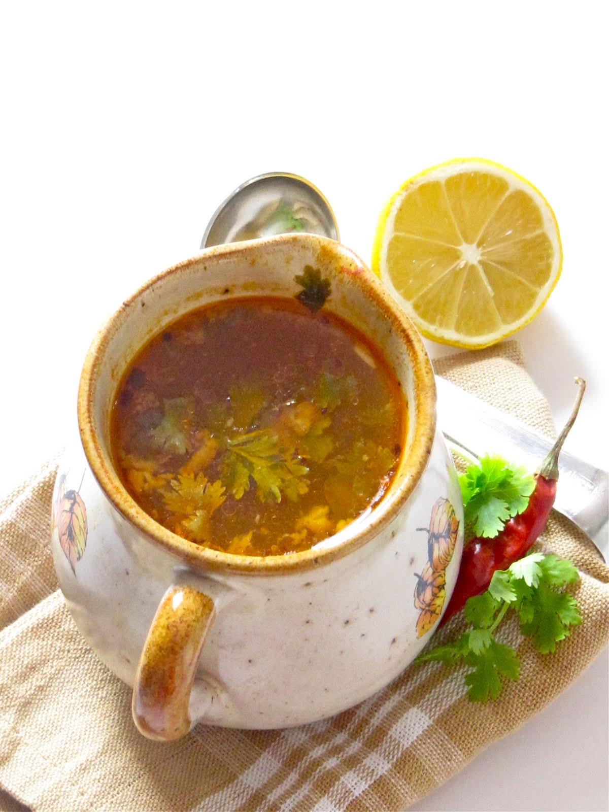 Plateful: Rasam — Hot and Sour Vegan Soup