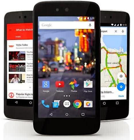 Android One dari Google, Spesifikasi dan Review Lengkap