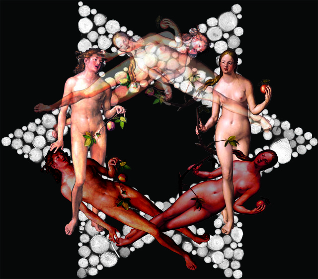 Adán y Eva y Adán y Eva y Adán y Eva