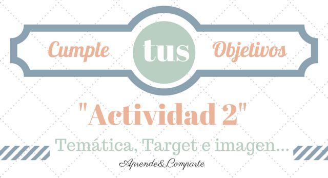 Cumple objetivos tematica target imagen