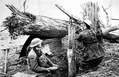 machine guns in world war 1