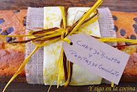 CAKE DE RICOTTA Y PEPITAS DE CHOCOLATE