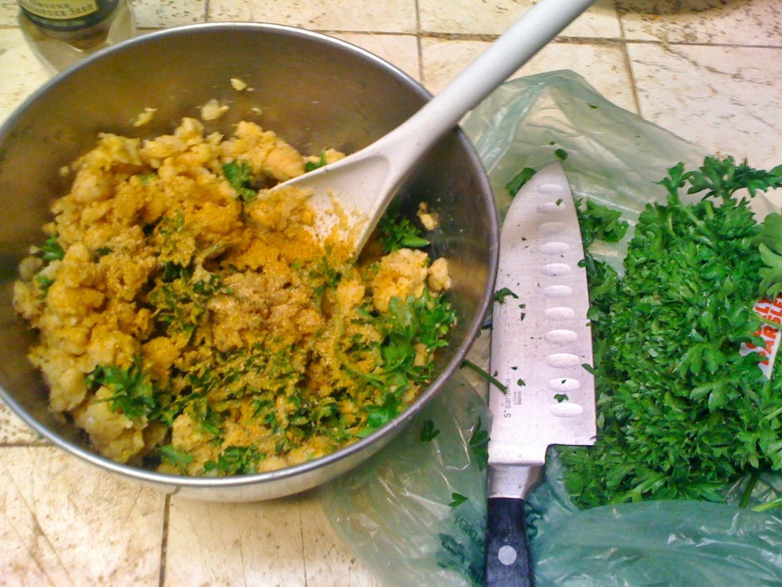AfroVeganChick: Soft Baked Garlic Pita Flatbread & Fried ...