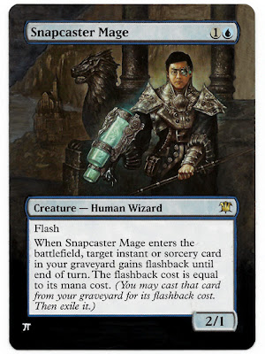 Snapcaster Mage altered art magic the gathering altered mtg card art magic altered art cards iplaythisgame snapcaster mage altered art