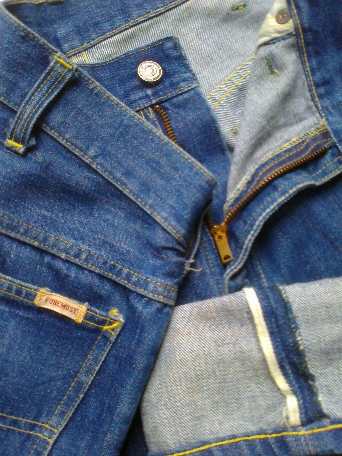 Wish You Were Here Vintage JC Penney Foremost Jeans