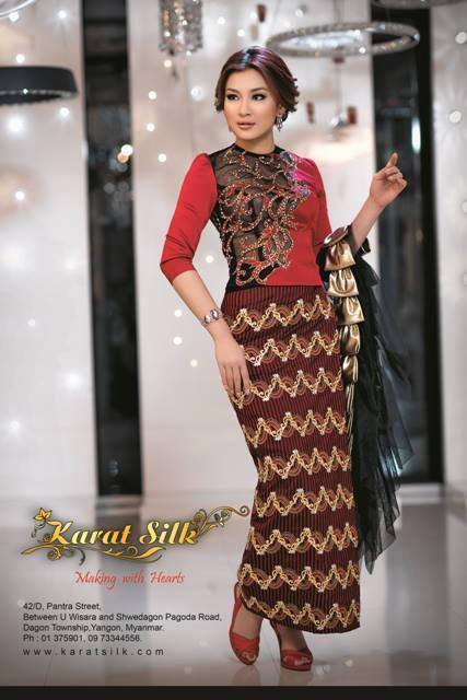 Myanmar Fashion Model - Wut Hmone Shwe Yi