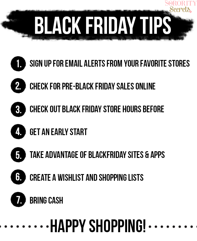 The Sorority Secrets Black Friday Tips