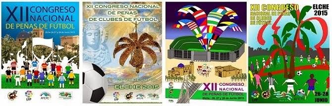 XII Congreso Nacional de Peñas, Elche Junio 2015